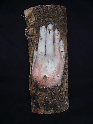 HAND OF GLORY SUPER LIFE LIKE  sideshow gaff death blood MEDIEVAL MAGIC