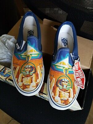 Mens Limited Edition Iron Maiden VANS Power Slave  shoe, size Men 9/ WMN 10.5