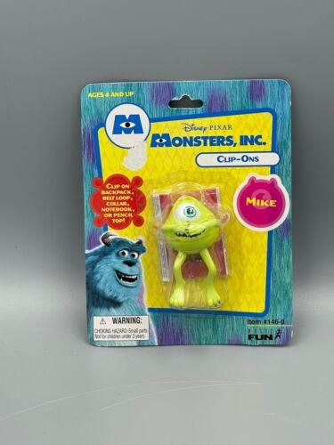 Vintage 2001 Disney Pixar Monsters Inc Mike Clip-On