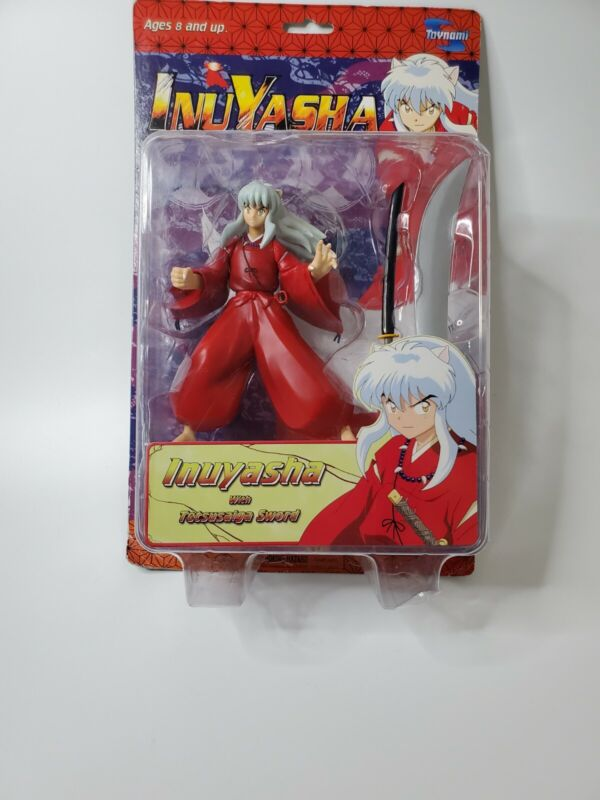 "Toynami Series 1 Inuyasha 6"" Action Figure with Tetsusaiga Sword A"