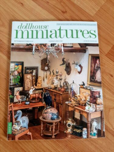 Dollhouse Miniatures Magazine Issue 65 Sept/Oct 2018 **Free Shipping**