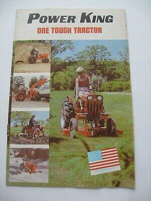 1980 Economy Power King Tractor Dealer Sales Brochure Estate Find