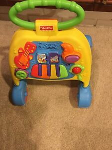Fisher price baby learn to walk