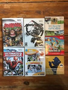 Wii games bundle