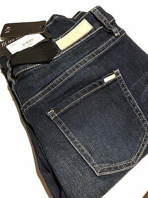 Armani Exchange Women's Five Pocket Jeans Regular Mid Rise Size 33 Reg Armani Five Pocket Jeans