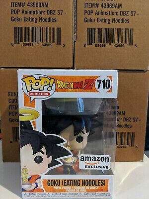 Funko Pop! Dragon Ball Z GOKU (EATING NOODLES) Amazon Exclusive *Fast Ship!*