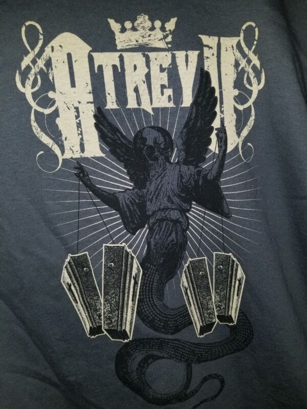 Atreyu  T-Shirt Youth Large Official Band Merchandise NEW grey