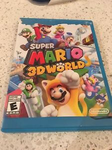Wii U Nintendo Super Mario 3D World
