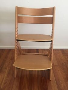 Soho wooden high chair Brighton Bayside Area Preview