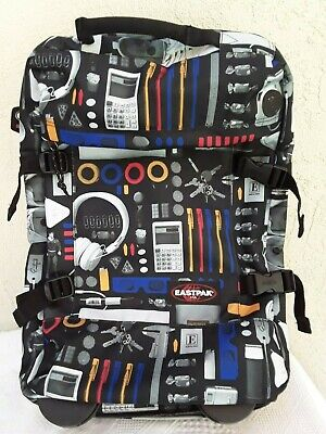 Eastpak Rolling Backpack Expandable Luggage Unique Printed Images Calculator (Expandable Rolling Backpack)