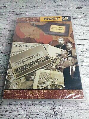 CAT HOLT MACHINERY PETER M AND CATERPILLAR BENJAMIN HOLT DOCUMENTARY RARE DVD  ()