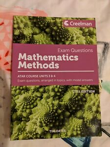 2018 Maths Methods Creelman Exam questions