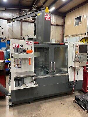 Haas Vf2 2012 Cnc Milling Machine