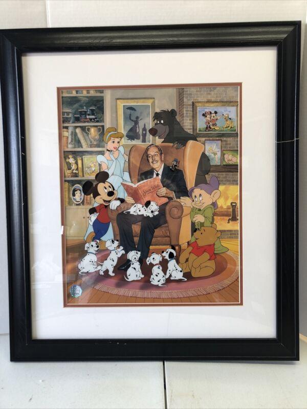 "Walt Disney ""The Great Storyteller"" Limited Edition Size 2500 Serigraph Cel"