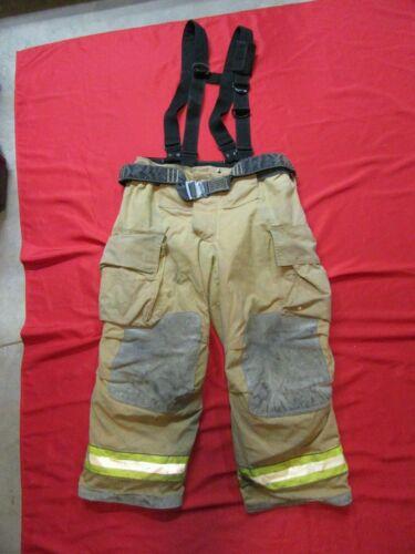 40 x 28 Cairns IH Firefighter Pants W Suspenders Bunker Turnout Fire Gear