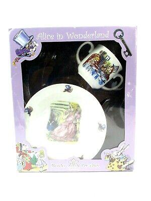 Alice in Wonderland Bowl and Cup Reutter Porzellan 2 piece