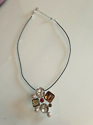 Swarovski crystal pendant necklace, used for sale  Shipping to South Africa