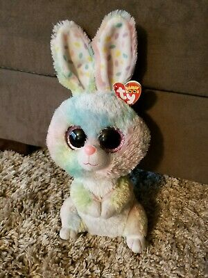 Beanie Boo Rabbit (Ty Silk Beanie Boo BUDDY * Bubby Bunny 12