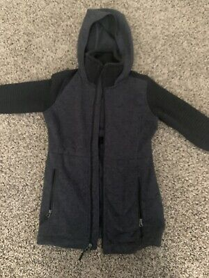 Women's North Face Jacket Small Zip Up Hood