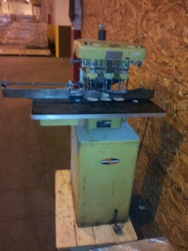 Challenge EH-3A 3-Hole Paper Drill W/ Indexing Side Guide