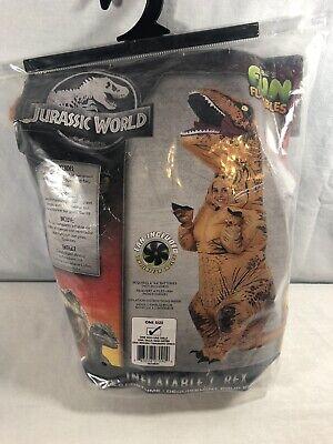 Jurassic World Inflatable T Rex Children's Costume One Size