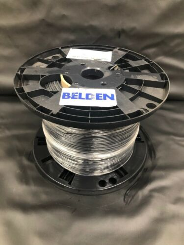Belden YR46940 010 Black Mini Cable 1000 FT - New