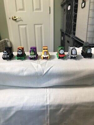 Thomas The Train Minis (7) 3 Action, Flynn, 2 Steamies & 1 Diesel. EUC