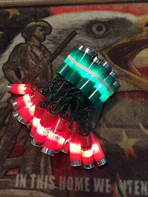 REDUCED. After Christmas Sale Decorations Shotgun shell lights, holiday wreath ()