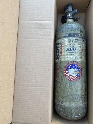Scott Scba Bottle Air-pak 4500 Psi 45 Min 2005 Cga 347 Pcp Air Gun Hydro 92018