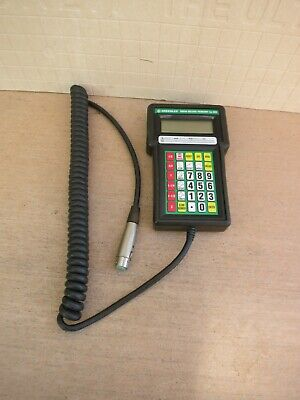 Greenlee 38650 855 Deluxe Remote Controller Calculates Bend Length Offsets