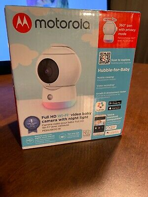 motorola Peekaboo Hd Wifi Video Baby Monitor With Light fast free shipping