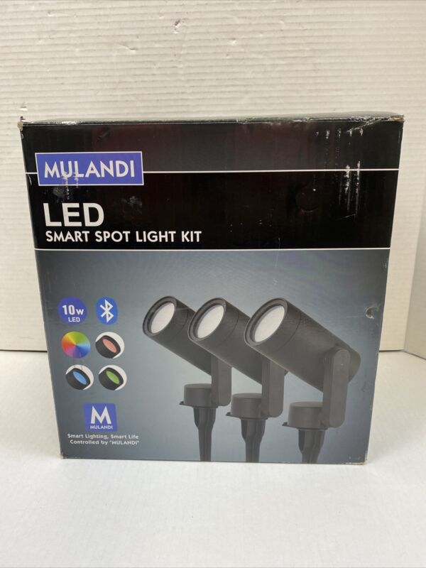 Mulandi Low Voltage LED Spotlight Smart Light Kit - Black