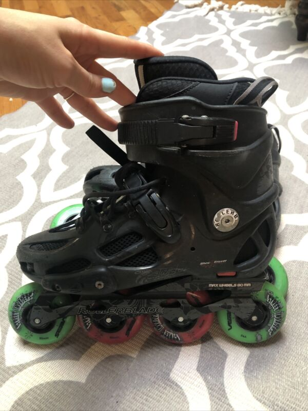 Rollerblade Twister 80 2017 W/Skates Size US9.5 EU41