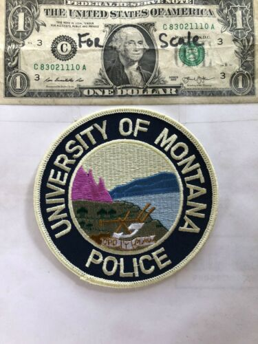 Rare University of Montana Police Patch in great shape