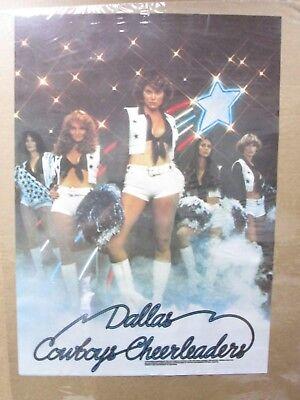 Hot Girls Football Dallas Cowboys Cheerleaders garage poster 1977 Inv#G1012 - Dallas Cowboys Cheerleaders Hot