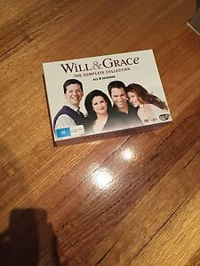 Will & grace DVD box series Pascoe Vale Moreland Area Preview