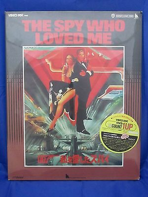 THE SPY WHO LOVED ME :JAMES BOND 007 - Japanese original VHD VIDEO DISC