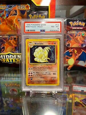 1999 Pokemon Unlimited Ninetales #12 PSA 8