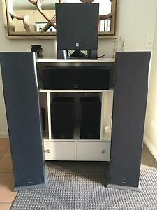 Dali speakers  / Yamaha sub woofer Surfers Paradise Gold Coast City Preview