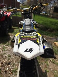 2014 Husqvarna 450 fc trade for newer skidoo only