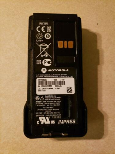 OEM New In Box Motorola NNTN8560A IMPRES 2500 mAh Li-Ion IP67 HazLoc Battery
