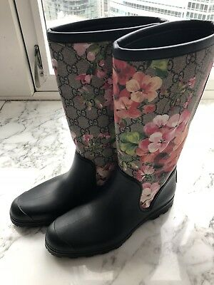 Authentic Gucci Bloom Rainboot Wellies Brand New 36