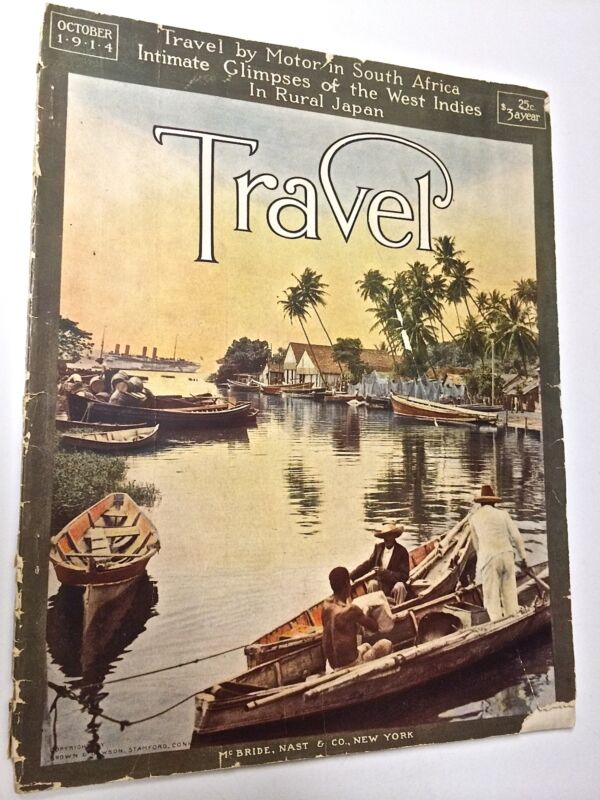 Antique Motor Travel Magazine for South Africa, 1914