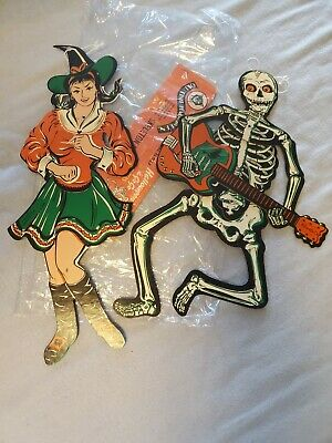 vintage beistle halloween decorations