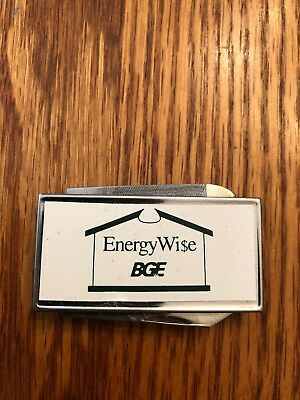 BGE Knife Money Clip Baltimore Gas & Electric