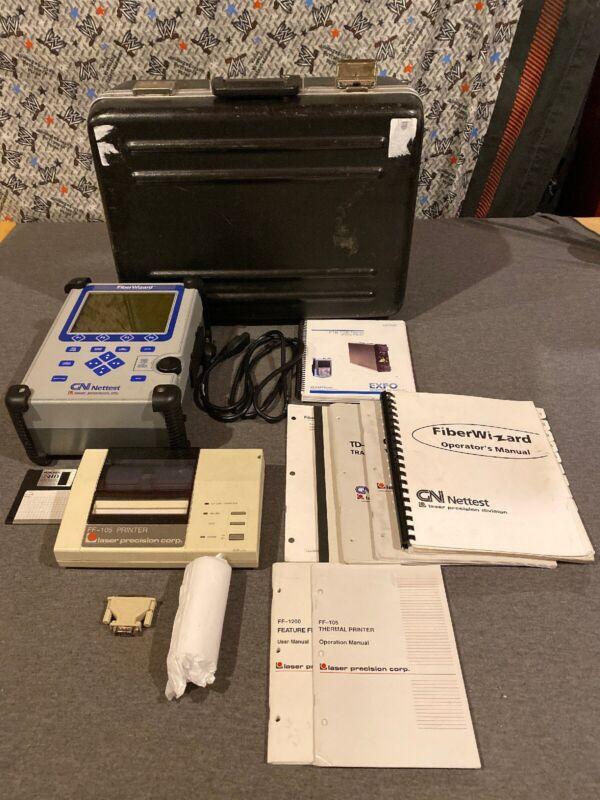GN Nettest TD-1000A/HR MINI-OTDR Fiber Wizard Laser Precisionw/ FF-105 Printer