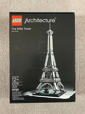 LEGO 21019 Architecture The Eiffel Tower set - New Factory Sealed - Retired