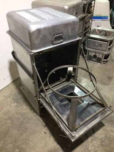 """Military Surplus Field Range Kitchen Oven Stove Cooking Station """"WITH BURNER"""""""