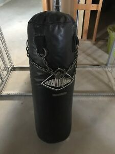 Punching bag and 2 set of gloves