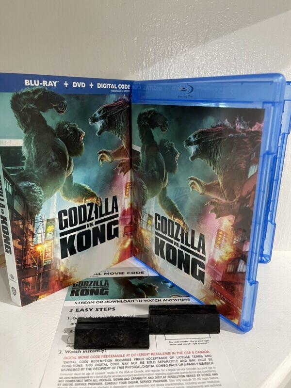 Godzilla vs. Kong Blu Ray + Digital Insert (Please Read Descript Before Buying)